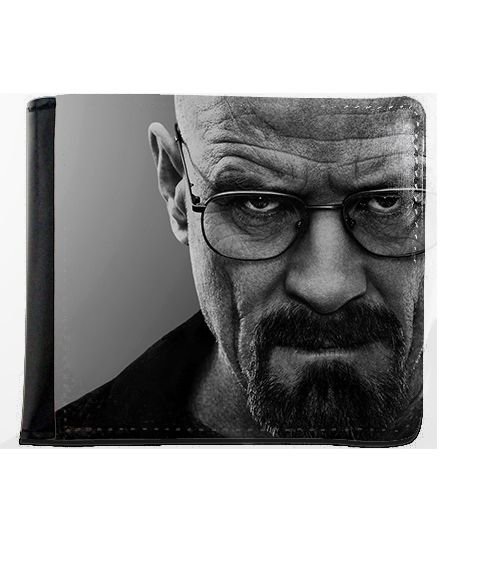 Carteira Breaking Bad - Heisenberg - Nerd e Geek - Presentes Criativos
