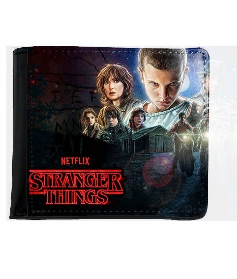 Carteira Stranger Things - Serie