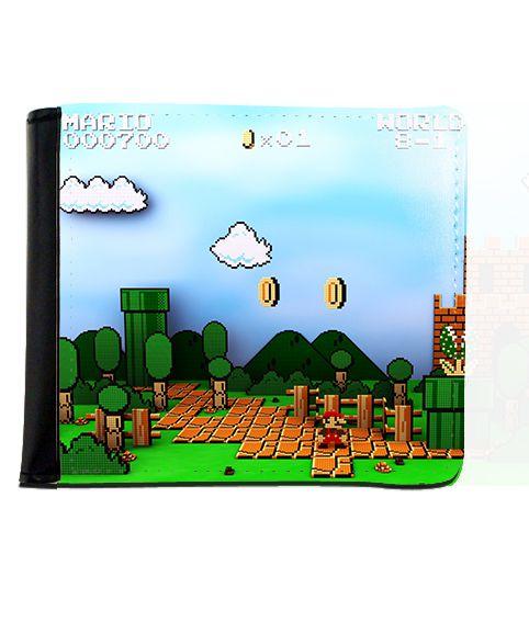 Carteira Super Mario Word - Nerd e Geek - Presentes Criativos