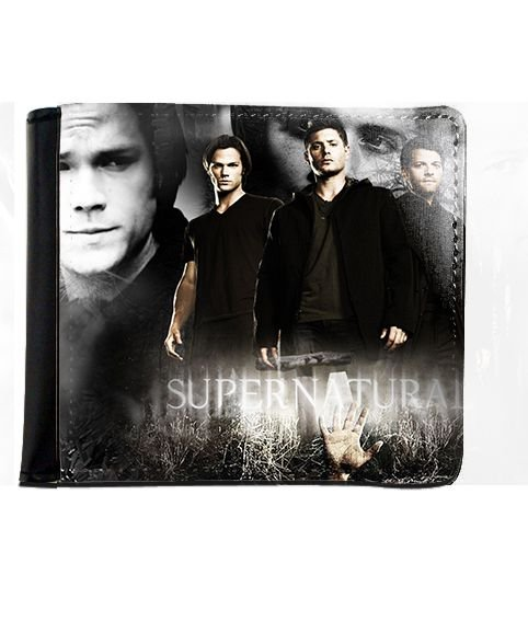 Carteira Supernatural - Dean e Sam - Nerd e Geek - Presentes Criativos