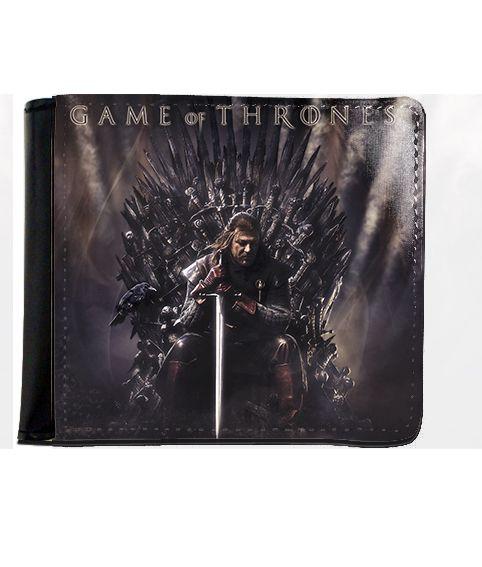 Carteira Game of Thrones - Eddard Stark - Nerd e Geek - Presentes Criativos