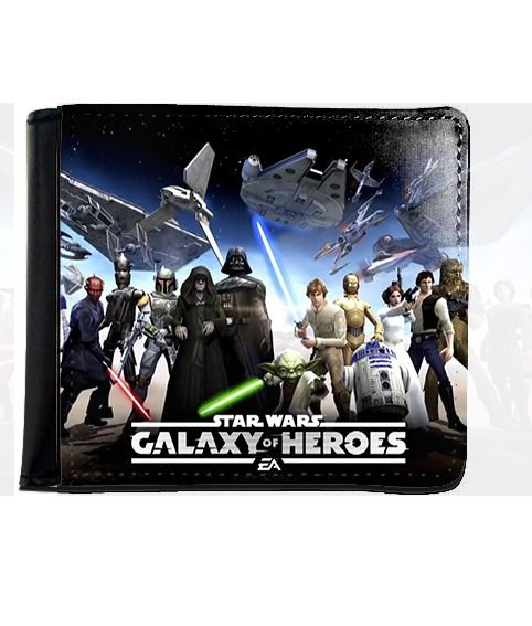 Carteira Star Wars - Galaxy Heroes