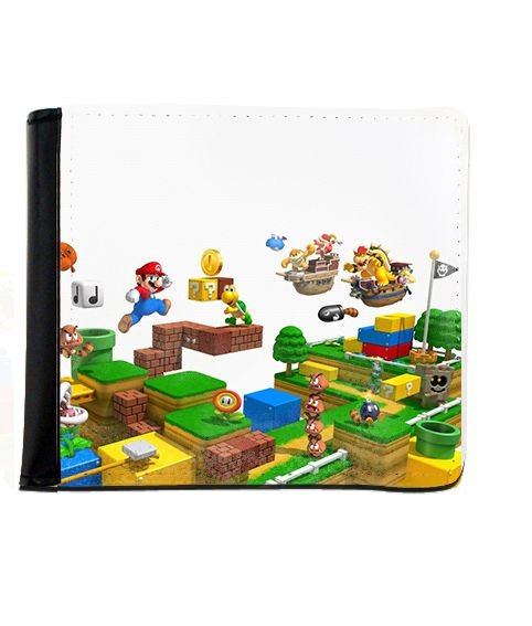 Carteira Super Mario - Final - Nerd e Geek - Presentes Criativos