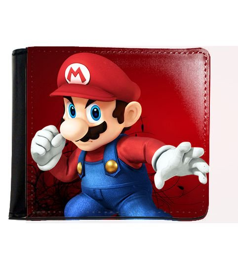 Carteira Super Mario Bros - Nerd e Geek - Presentes Criativos