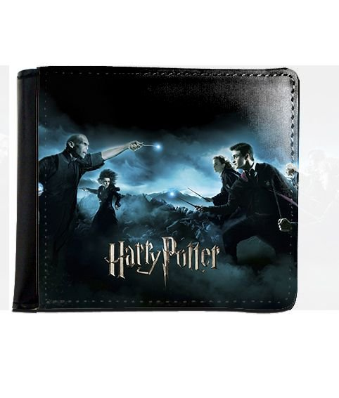 Carteira Harry Potter Vs Valdemort - Nerd e Geek - Presentes Criativos