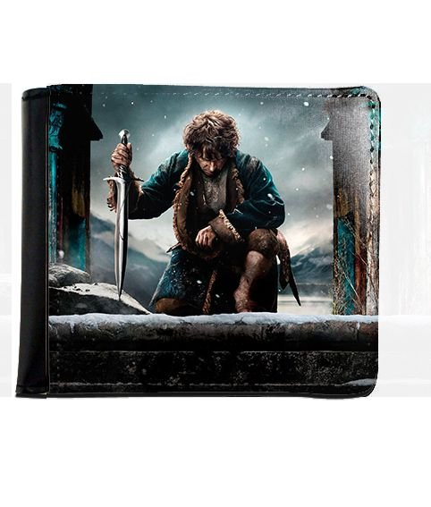 Carteira Hobbit - Nerd e Geek - Presentes Criativos