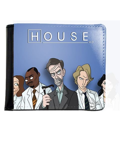 Carteira Dr House - Nerd e Geek - Presentes Criativos