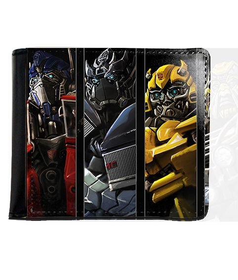 Carteira Transformers - Nerd e Geek - Presentes Criativos