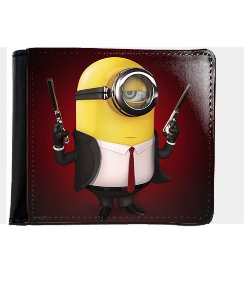 Carteira Minions 007 - Nerd e Geek - Presentes Criativos