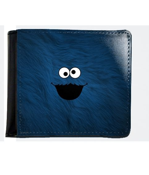 Carteira Cookie Monster