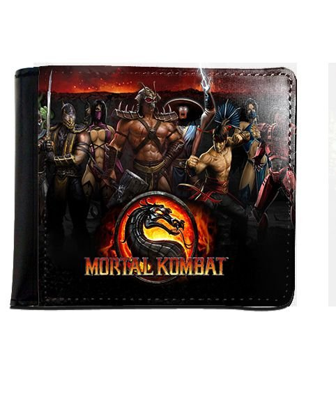 Carteira Mortal Kombat - Nerd e Geek - Presentes Criativos