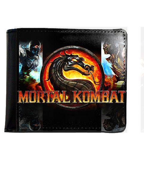 Carteira Mortal Kombat - Nerd e Geek - Presentes Criativos