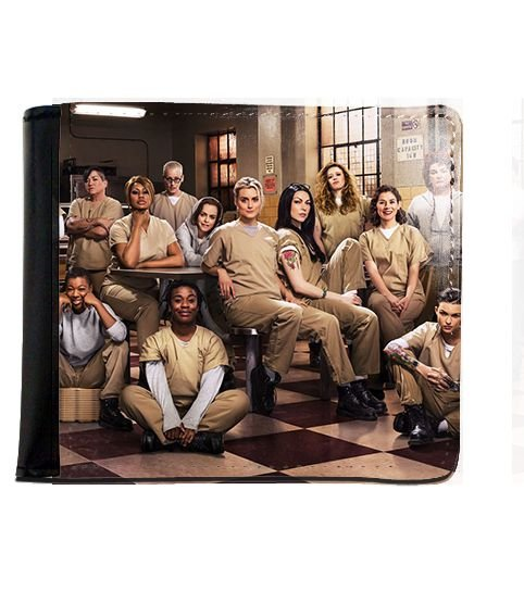 Carteira Orange Is the New Black - Nerd e Geek - Presentes Criativos