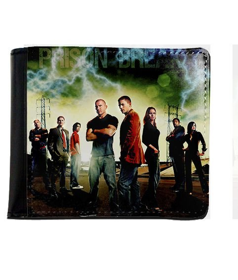 Carteira Prison Break - Nerd e Geek - Presentes Criativos
