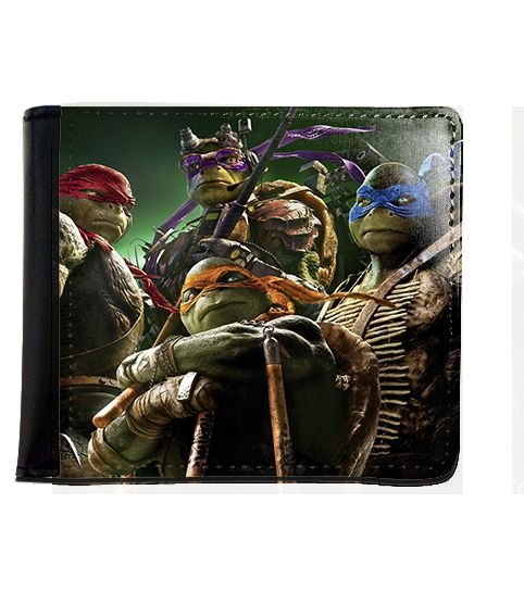 Carteira Tartarugas Ninjas - Nerd e Geek - Presentes Criativos