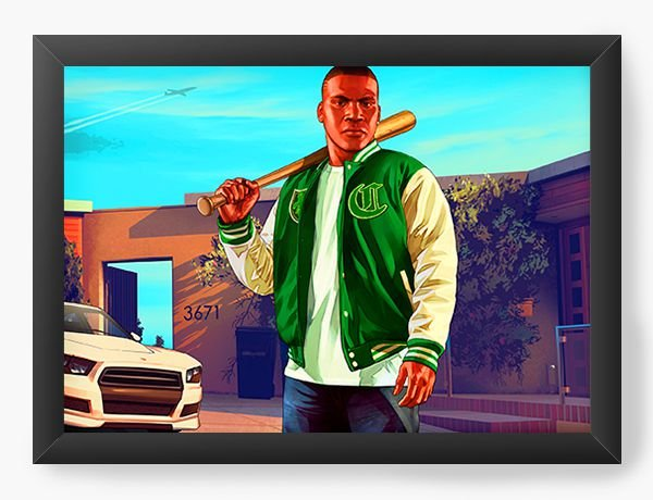 Quadro Decorativo GTA