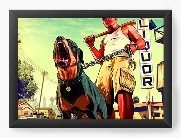 Quadro Decorativo The GTA