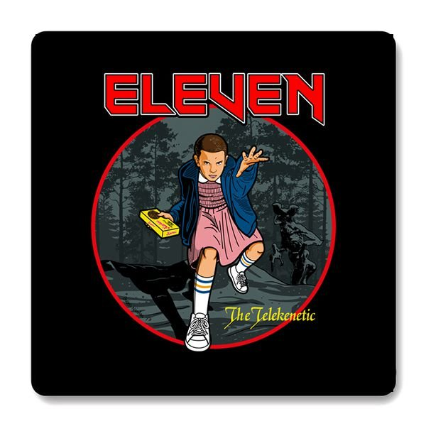 Imã de Geladeira Stranger Things - Eleven - Nerd e Geek - Presentes Criativos