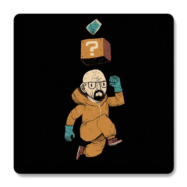Imã de Geladeira Breaking Bad - Nerd e Geek - Presentes Criativos