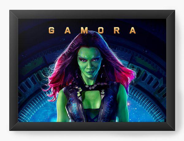 Quadro Decorativo Guardiões da Galáxia - Gamora