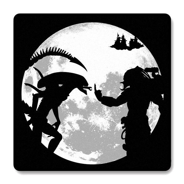 Imã de Geladeira Alien Vs Predador - Nerd e Geek - Presentes Criativos