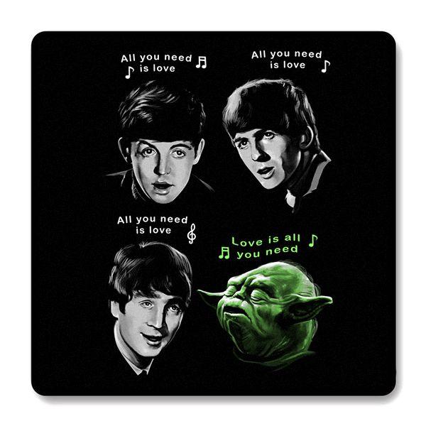 Imã de Geladeira The Beatles Yoda