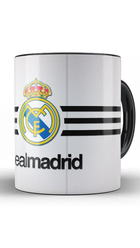 Caneca Real Madrid - Nerd e Geek - Presentes Criativos