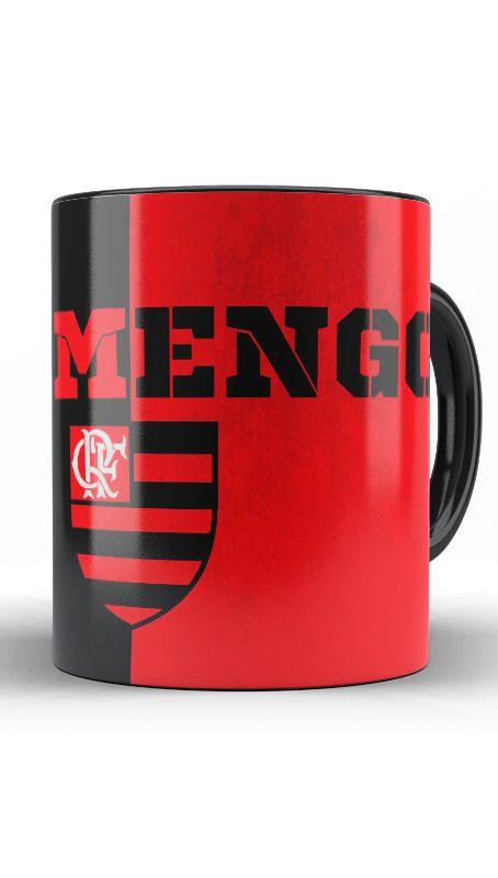 Caneca Flamengo - Mengão - Nerd e Geek - Presentes Criativos
