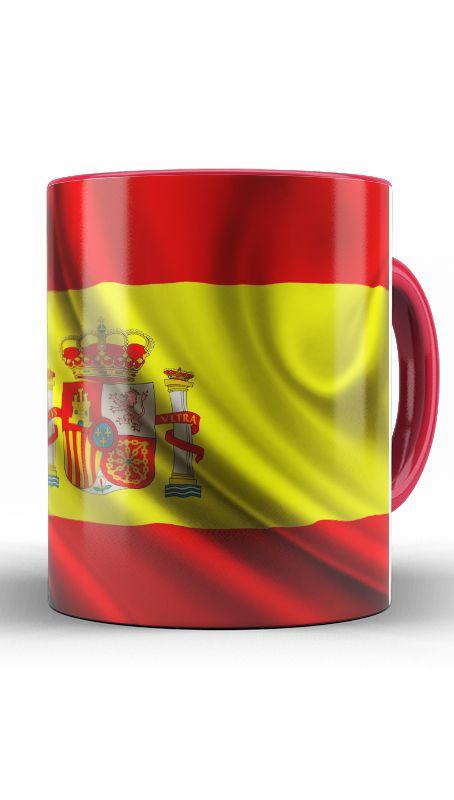 Caneca Seleção Espanhola - Nerd e Geek - Presentes Criativos