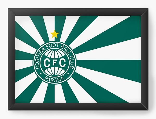 Quadro Decorativo Coritiba Foot Ball Club