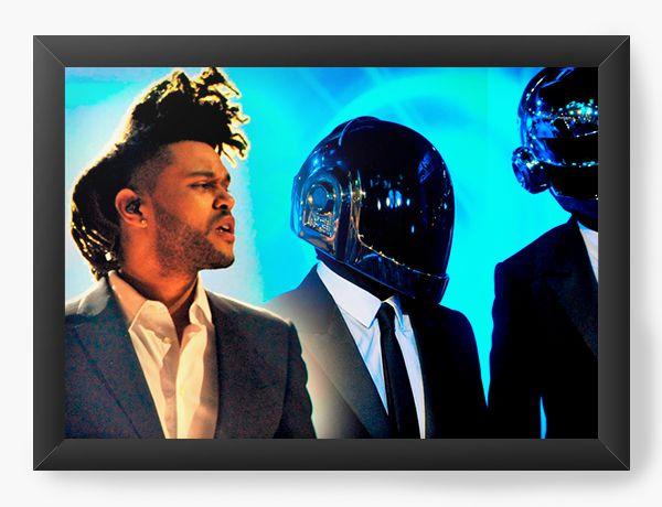Quadro Decorativo The Weeknd - Nerd e Geek - Presentes Criativos