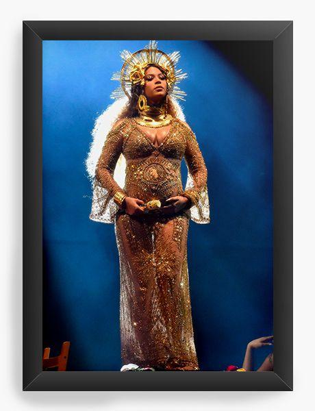 Quadro Decorativo Beyonce - Nerd e Geek - Presentes Criativos