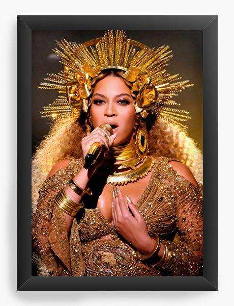 Quadro Decorativo Beyonce - Diva - Nerd e Geek - Presentes Criativos