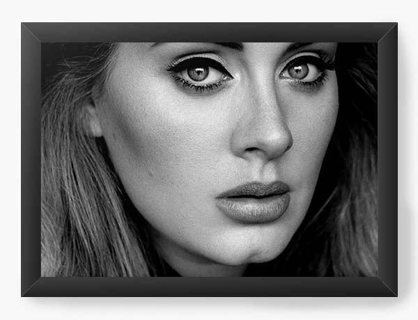 Quadro Decorativo Adele - Nerd e Geek - Presentes Criativos