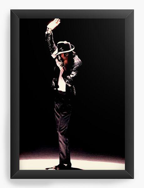 Quadro Decorativo Michael Jackson