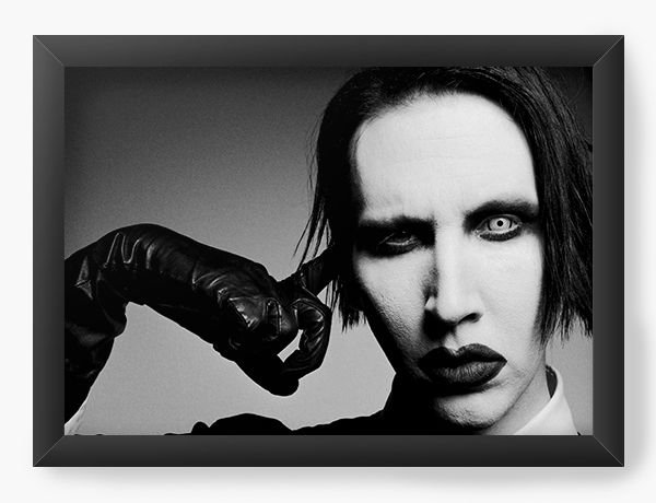 Quadro Decorativo Marilyn Manson