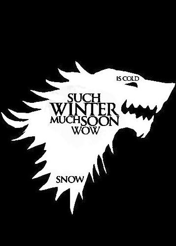 Camiseta Game of Thrones Wolf Preto