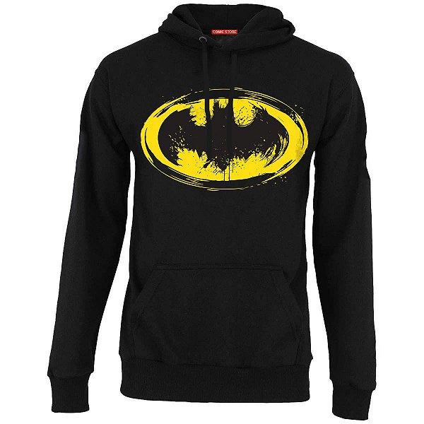 Blusa com Capuz Batman Escudo