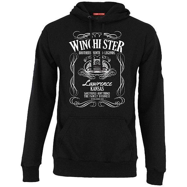 Blusa com Capuz Sobrenatural - Winchester