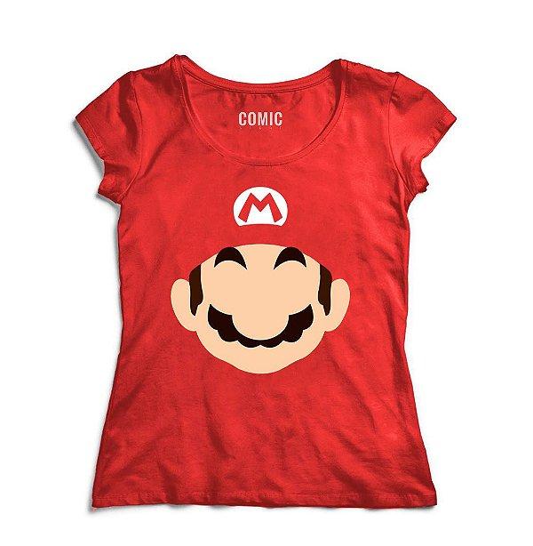 Camiseta Feminina Super Mario Word - Nerd e Geek - Presentes Criativos