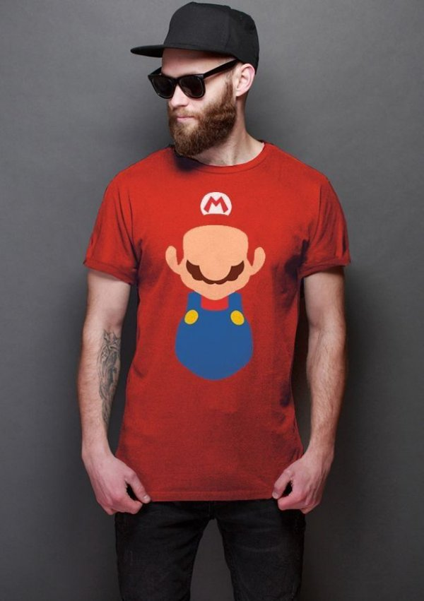 Camiseta Masculina  Super Mario Word - Nerd e Geek - Presentes Criativos