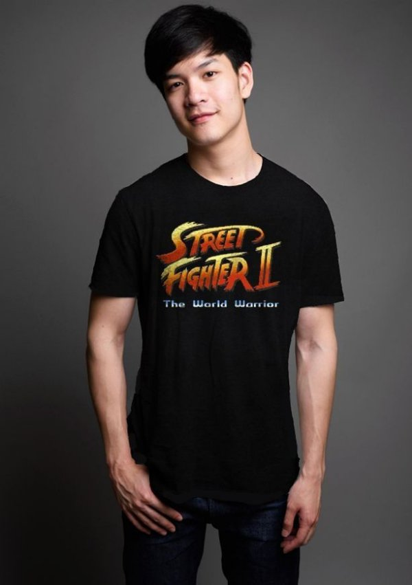 Camiseta Masculina  Street Fighter - Nerd e Geek - Presentes Criativos