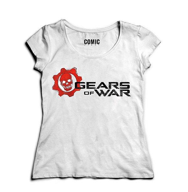 Camiseta Feminina Gears of War