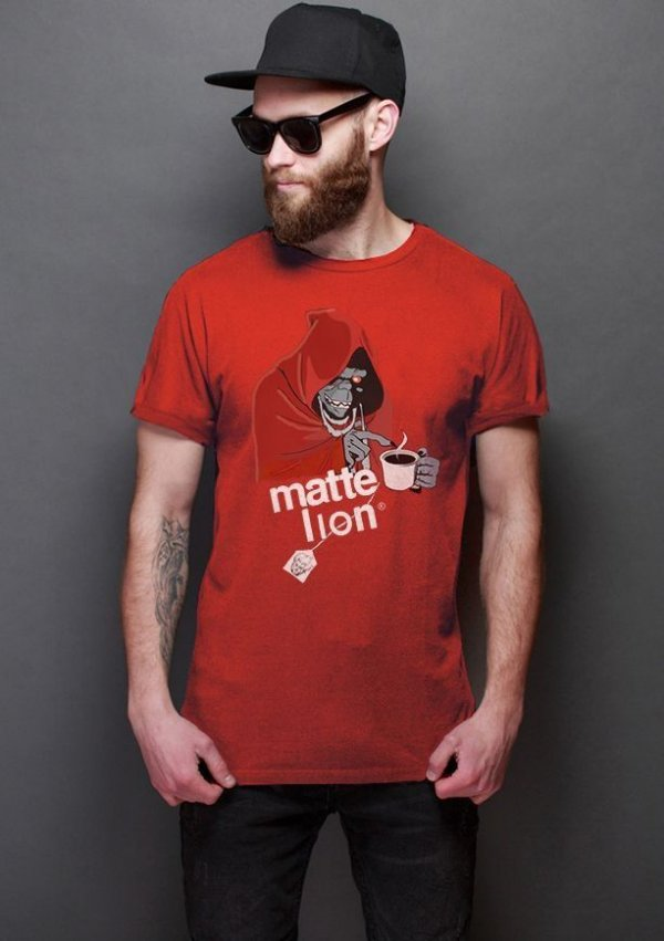 Camiseta Masculina  Thundercats Matte Lion - Nerd e Geek - Presentes Criativos