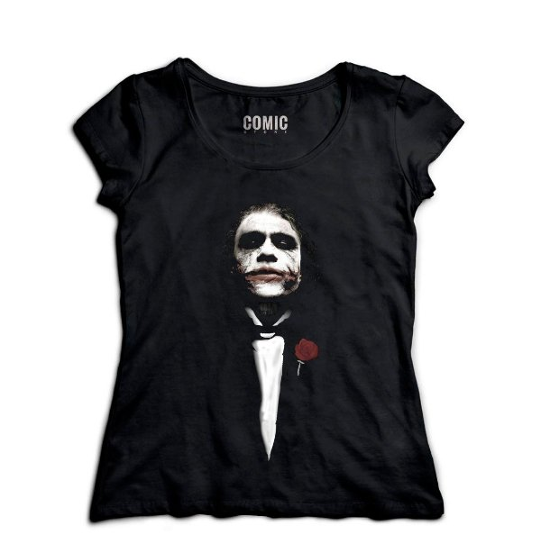 Camiseta Feminina  The Godfather - Nerd e Geek - Presentes Criativos