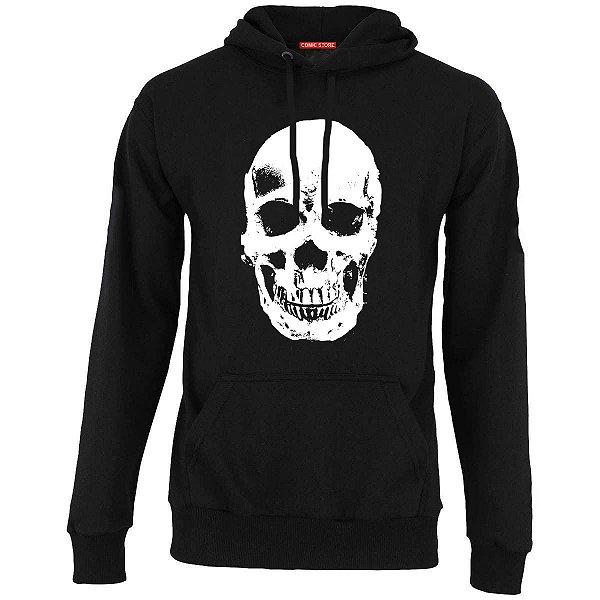 Blusa com Capuz Skull Happy