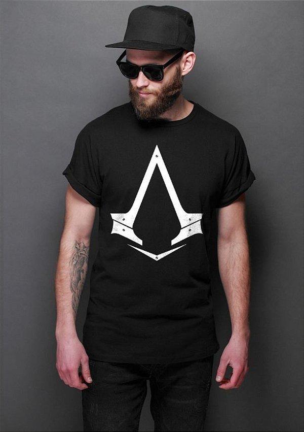 Camiseta Masculina  Assassin's Creed - Nerd e Geek - Presentes Criativos