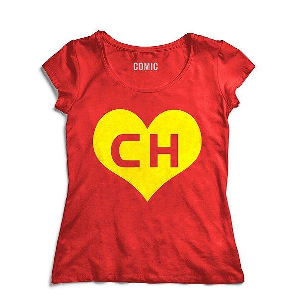 003108db31 Camiseta Feminina Chapolin - Nerd e Geek - Presentes Criativos ...