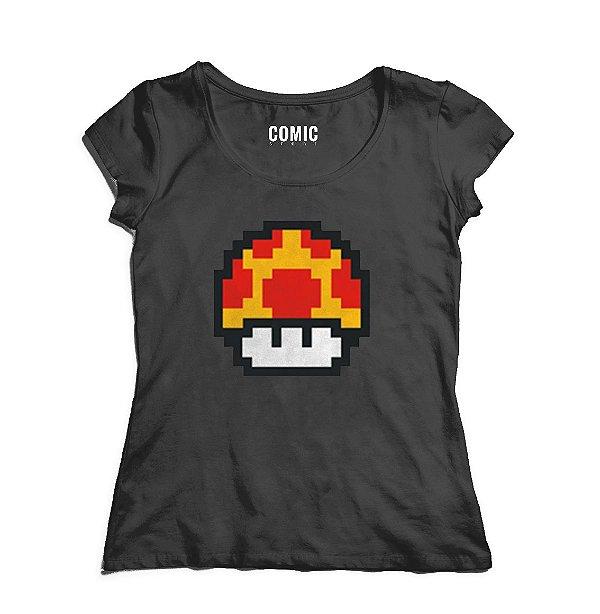 Camiseta Feminina Toad