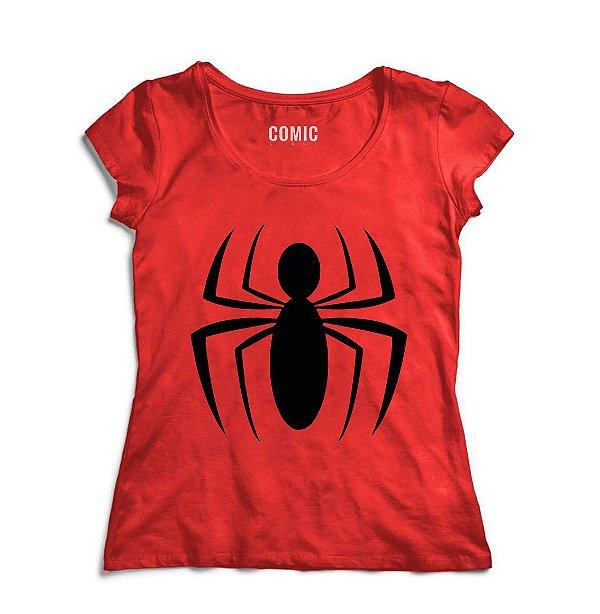 Camiseta Feminina Homem Aranha